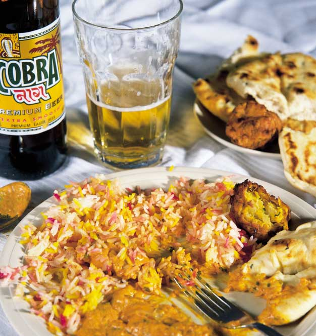 UNIVERSITY GAVE ME RED-HOT SKILLS If you enjoy a curry, you probably know the beer Karan Bilimoria developed to go with it.