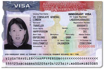Unexpired Foreign Passport with I-551 Stamp I-551 Stamp Upon endorsement serves