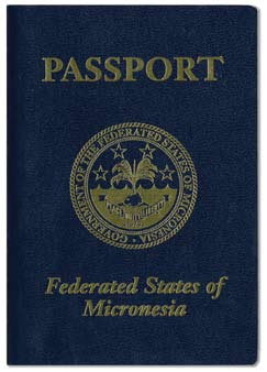 Passports of the Federated States of Micronesia and the Republic of the Marshall Islands In 2003, Compacts of Free Association (CFA) between the United States and the Federated States of Micronesia