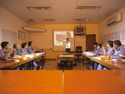 Training Resources Classrooms There are 9 standardized classrooms (including the AFA Laboratory) with the capacity of 8 trainees and 1 bigger