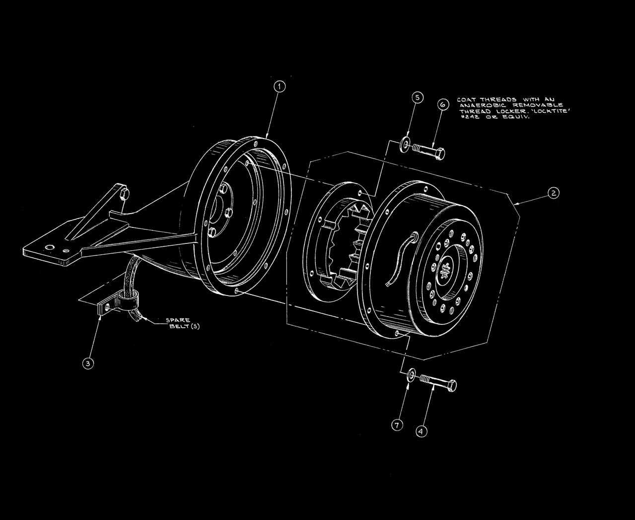 920 PTO/Electric Clutch 700 Lbs