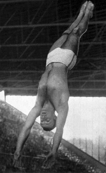 J. Capilla Pérez. Diving This was the first occasion on which the diving competitions were held at night. Men's Springboard Metres.