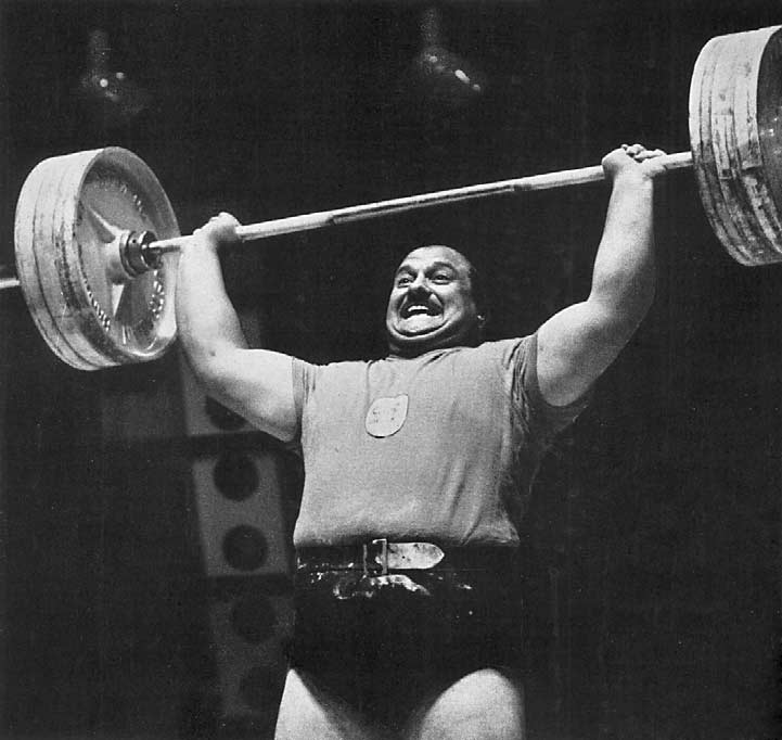 WEIGHTLIFTING Heavyweight. Anderson () began undoubted favourite but was rudely shocked in the first lift by Selvetti (Argentine) who pressed 7 kg. (8¾ lb.) to set a new Olympic record.