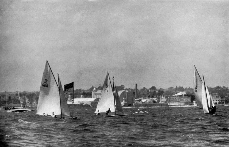 YACHTING The planning and conduct of the Regatta were entrusted to the n Yachting Federation.