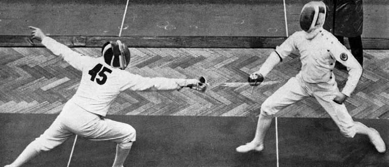 FENCING (8 v. 6 Touches) d. Gt. Britain and N. Ireland (8 v. 66 Touches) R. Ferrari D. Pace V D Touches 8 9 Gt. Britain and N. Ireland A. Cooperman O. Porebski V M. Ravagnan G.