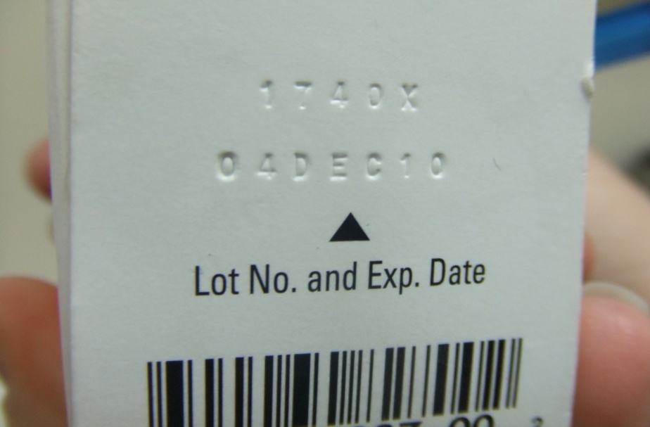 Photo 2: Varicella Vaccine, With an Expiration Date of 04 Dec 2010, Identified During Site Visit on 21 April 2011 Providers must also monitor vaccine expiration dates to identify vaccines that they