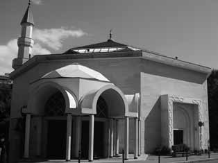 222 Mosques in Europe: Why a solution has become a problem and/or cafeteria but these are almost invisible from the outside and have never been a source of major problems.