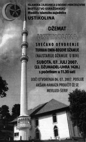 326 Mosques in Europe: Why a solution has become a problem mosque is said to be the oldest in Bosnia and Herzegovina. Its foundation is ascribed to the Ottoman military leader Truhan Emin beg.