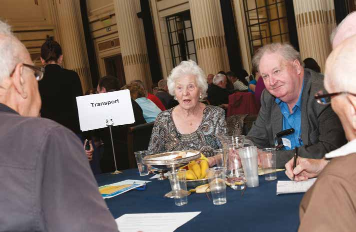 An Age Friendly City How far has London come? alternative ways to support the voluntary organisations that are so vital to older people s participation in social life.