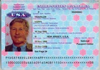 E-Passport: An e-passport is a high-tech, machine-readable passport containing an integrated circuit (chip) that can store biographic and biometric information (see page 12) about you, as specified