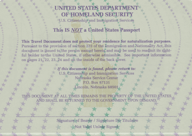 Benefits for Permanent Residents and Naturalization Page 159 of 171 A RE-ENTRY