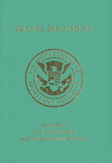 The Reentry Permit contains a digitized photograph and many of the security