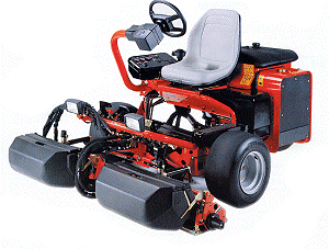 4-wheel variants with a pivoting rear axle also common 6 Zero turn mowers Typically 4-wheel rigid-chassis vehicle, with mid-mounted cutting deck, and rearward