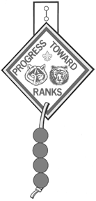 Progress Toward Rank Awards Tigers: Tiger Cubs (first graders) should receive a Tiger Cub Immediate Recognition emblem to wear on the right pocket of their uniform.
