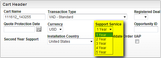 Oracle Partner Store HW & SW Installation Country: Select the installation country in accordance to where your hardware products will be installed.