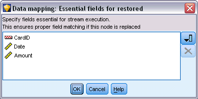 95 Building Streams To Set Essential Fields E Right-click the source node of the template stream that will be replaced.