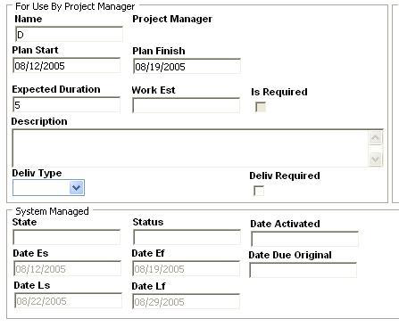 The Project Manager can then go through each activity and change the Plan Start date to any date between the Early Start and Late Start dates for that activity.