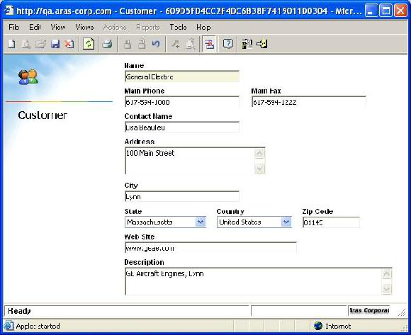 Online Help: Program Management 8.1 Expand TOC Customer The Customer Form allows all necessary contact information about a customer to be saved for easy reference.