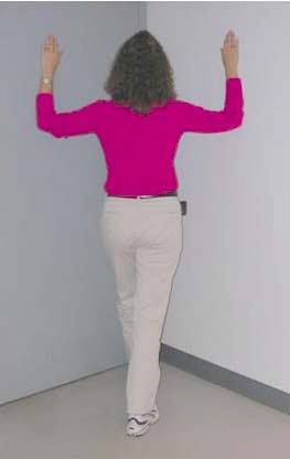 Continued from page 5 exercises encourage rounded shoulder posture, which can increase the stress on the thoracic spine.