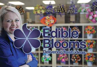 Case study Australia Edible Blooms online business embracing DIGITAL marketing Edible Blooms is an online gift delivery business that has grown quickly over the past eight years thanks to clever