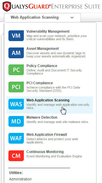 QualysGuard WAS is the most powerful web application