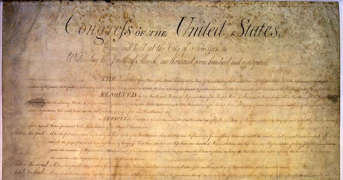 The Bill of Rights, ratified December 15, 1791 The idea of adding a Bill of Rights to the Constitution was originally controversial.
