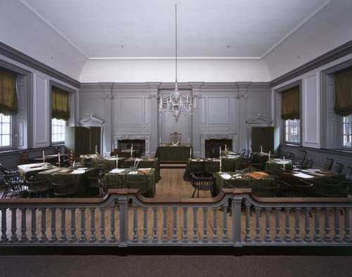On September 17, 1787 the Constitutional Convention came to a close in the Assembly Room of Independence Hall in Philadelphia, Pennsylvania There were seventy individuals chosen to attend the