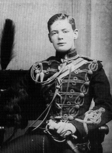 Sandhurst 1893-1894 1895: Winston in the fourth Hussars.