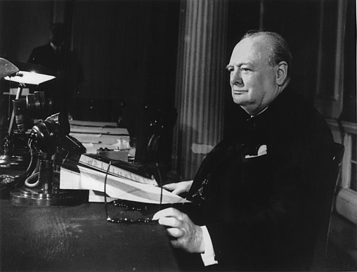 On April 24, 1953, Queen Elizabeth II honored Winston Churchill by appointing him a Knight of the Garter.