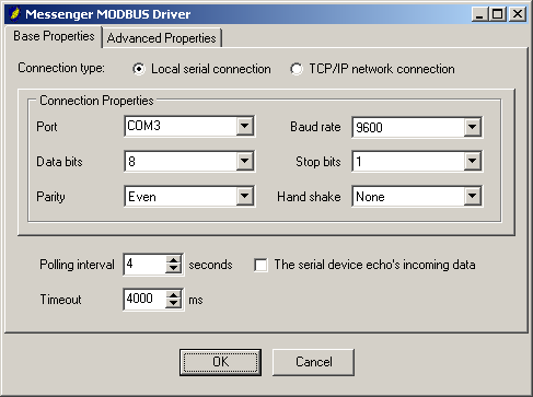 PM_MODBUS (monitor sensors & signal actuators using MODBUS) This driver can be used to monitor sensors & signal actuators accessible through a MODBUS-RTU network/device.