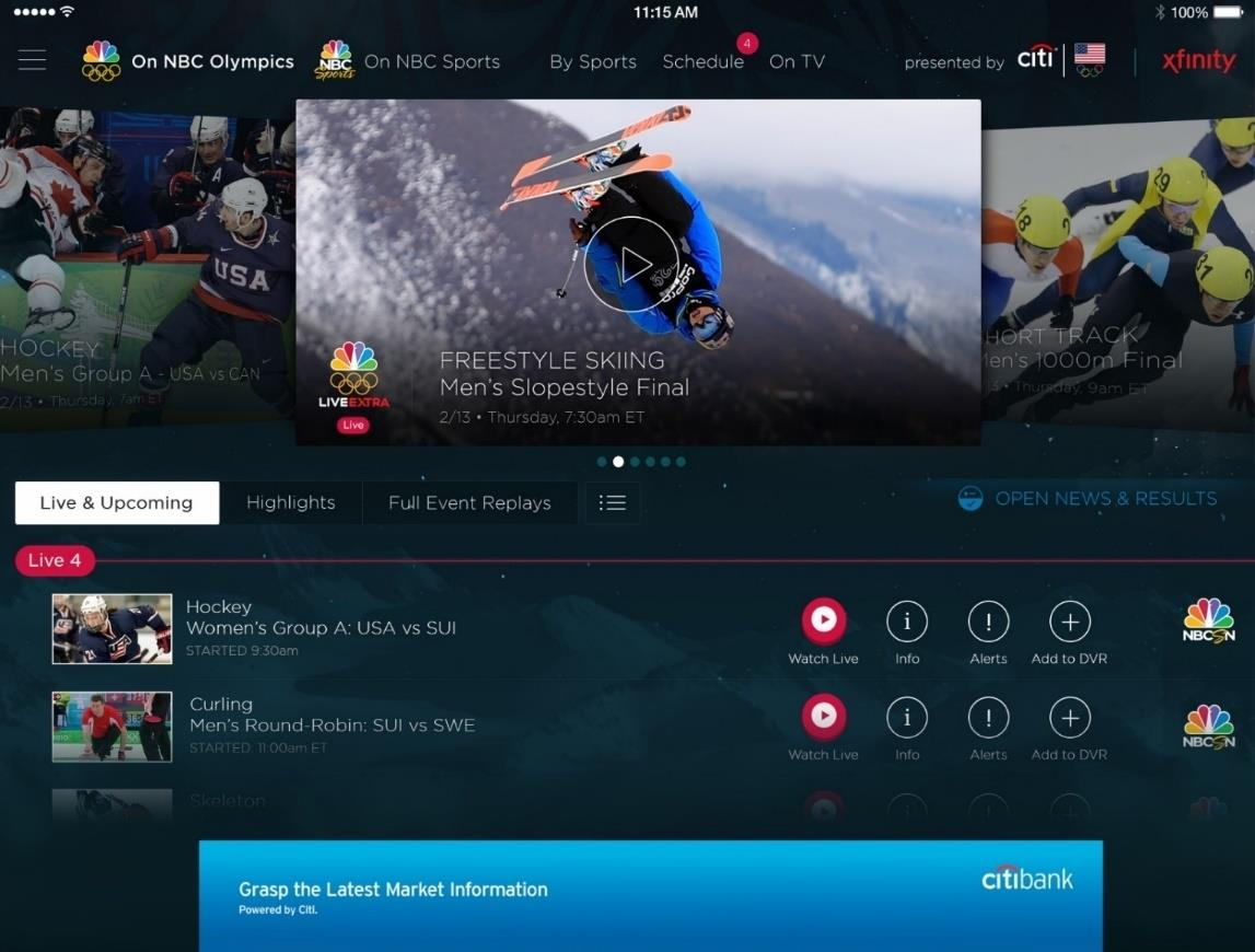 Olympics NBC Sports Live video encoding and streaming Web + Mobile Over 100 million