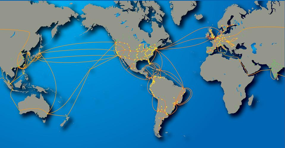 Global Crossing at a Glance The Carriers Carrier: High capacity Transport Services Tier 1 Internet