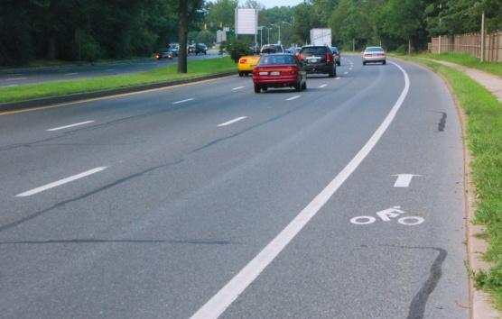 DOT Engineering Highlights and Recommendations: Bikeways Creation Ways to achieve Bikeways in Montgomery County