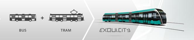 A new network in Rouen is in development under the name East-west transport in Rouen (TEOR) and is a bus rapid transit system operating in the city.