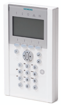 X-BUS The innovative comfort keypad with its large display is ideal to easily manage multiple and single areas, and in addition, the integrated voice annunciation helps to avoid errors in the day to