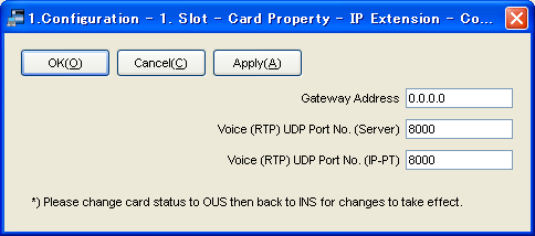 4.2.1 Assigning the IP Addressing Information 4.2 Programming the IP-EXT16 Card 4.2.1 Assigning the IP Addressing Information When an IP-EXT16 card is placed on the LAN for the first time, it is necessary to assign IP addressing information to the card.