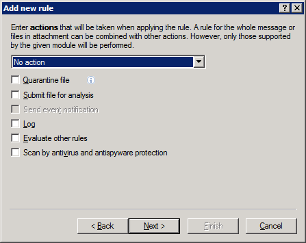 3.1.2.1 Adding new rules This wizard guides you through adding user-specified rules with combined conditions.