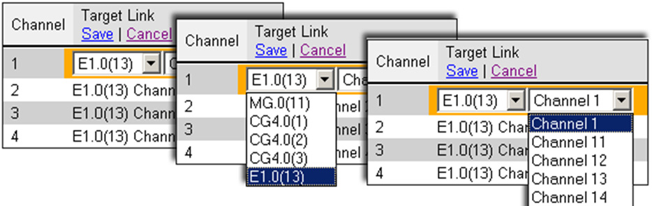 If all of the card s channels are already allocated, the message Fully allocated appears. 6.