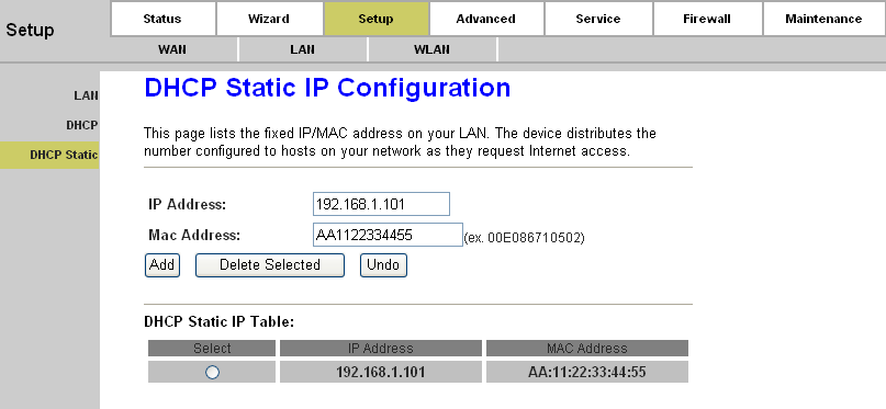 Page 29 of 78 Option60: A string of n octets, interpreted by DHCP servers, used by DHCP client to optionally identify the vendor type and configuration of a DHCP client.