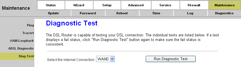 Page 77 of 78 Figure 4-62 Click the Start button to start the diagnostic, and then wait several minutes later you will see the test result. 4.6.6.5.