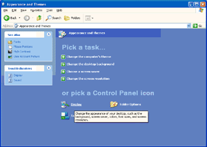 Windows XP For Windows XP: 1 Click START. 2 Click SETTINGS.