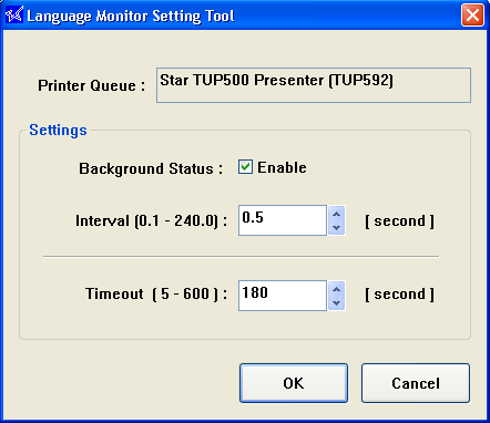 Checking Status If you implement the language monitor method to determine status, you will