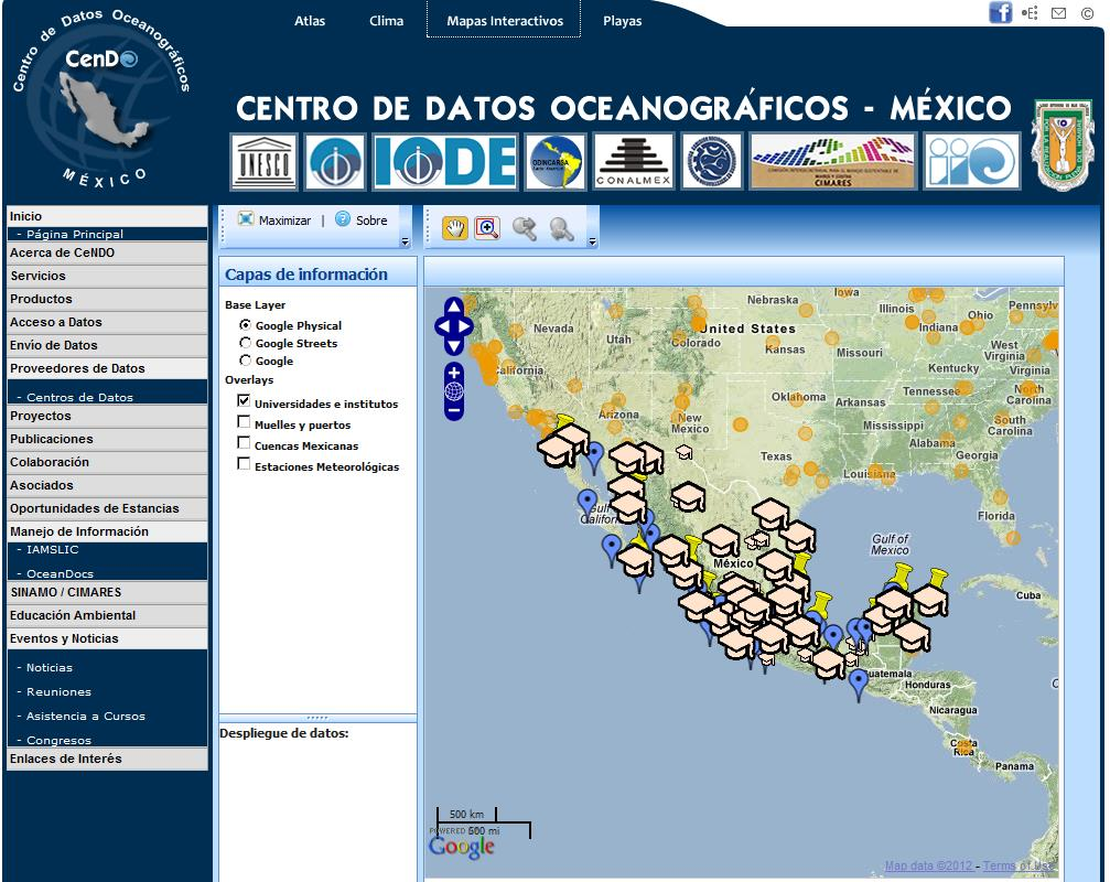 Academic Monitoring Networks Oceanography, Marine