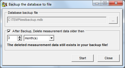 Database backup In case you don t make use of a sophisticated database server with features like database mirroring and automated backups, it is recommend to regularly backup the database manually or