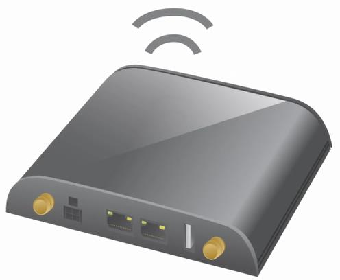 OPTION 1 Integrated wireless router There are a wide range of routers on the market with cellular technology built-in.