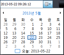 4. How to Use PC Viewer 4.10. PC Viewer setting - System Time Basic setting of time is on the PC. Time process is displayed on an year, month, date, hour, minute, second.