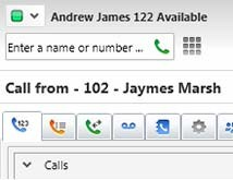 You can view status of other colleagues and avoid voice mail tag and unnecessary phone calls.