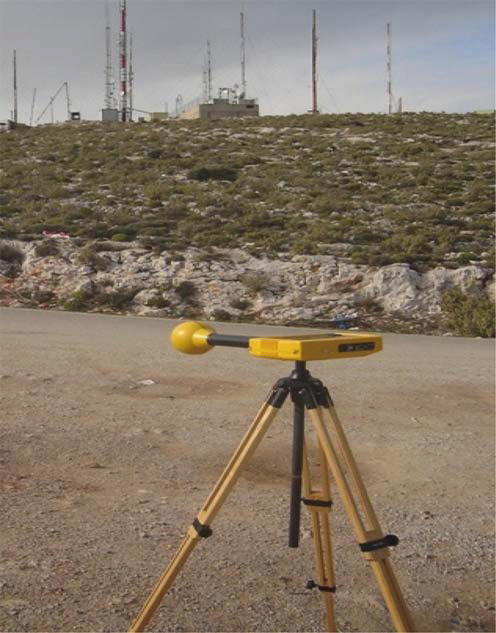 Either a portable spectrum analyzer equipped with a set of antennas [26] or a selective radiation meter [17] with a broadband probe can be used to measure the electric field strength/power flux