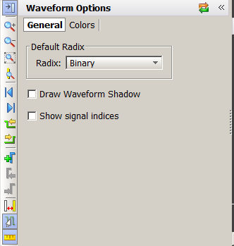 Controlling the Display of Waveforms TIP: You can jump to the nearest transition of a set of waveforms by selecting multiple wave objects together.