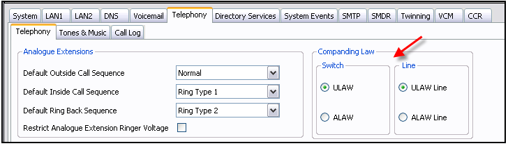 Engineering overview Centralized voicemail: Centralized voicemail for all IP Office system in the SCN network; the BCM system may use centralized voicemail of the CS1000 IP Office system cannot use